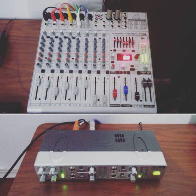 headphone amp & mixer